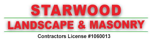 Starwood Landscaping   Orange County Logo